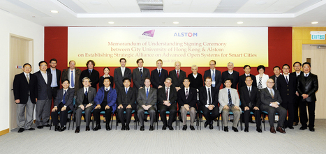 Alstom and the City University of Hong Kong signed a framework agreement on establishing strategic alliance for Smart Cities | Electrical Grid news | Scoop.it