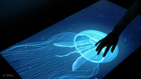 Disney invents touchscreen that lets you feel textures | Assistive Technology for Education | Scoop.it