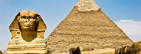 Pyramids   Blue sky travel   Scoop.it