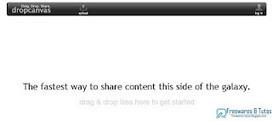 Dropcanvas : un nouveau service en ligne pour partager rapidement et facilement ses fichiers | Stratégie digitale et médias sociaux | Scoop.it