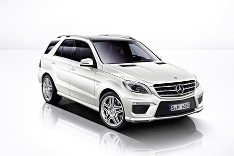 2012 Mercedes-Benz ML63 AMG introduced before L.A. Show - rpmGo.com | What Surrounds You | Scoop.it