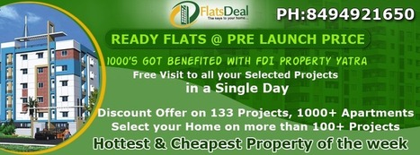 Mega Offer on Ready to move in flats in Bangalore at Pre launch Price | FlatsDeal | Scoop.it