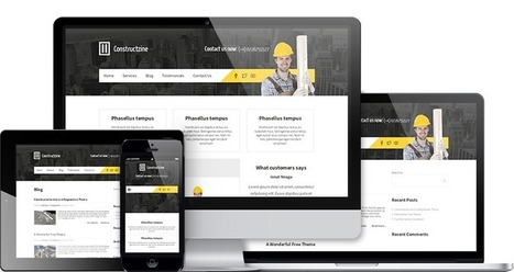 Constructzine WordPress Theme | MyThemeCafe | Website Premium Theme Directory | Scoop.it