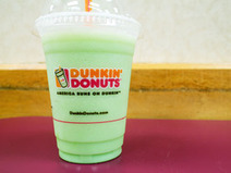 We Try the Lucky Mint Coolatta at Dunkin' Donuts | Innovation - beverage | Scoop.it
