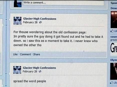"""Confessions"" pages on Facebook go beyond cyber-bullying 