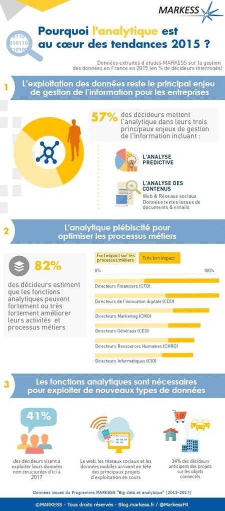 Infographie - L'analytique au cœur des tendances 2015 | Tendances du Web 2014 | Scoop.it