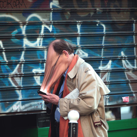 Startling Photo Series Explores How Our Phones Have Become Us | Edu's stuff | Scoop.it