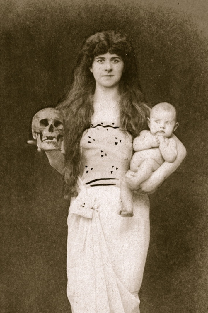 The Goddess of Death and Rebirth, 1905 | Herstory | Scoop.it