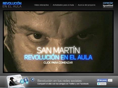 General José de San Martín. Revolución en el Aula. Argentina, Ministerio de Educación, Conectar Igualdad | RECURSOS PARA EDUCACIÓN Y BIBLIOTECAS | Scoop.it
