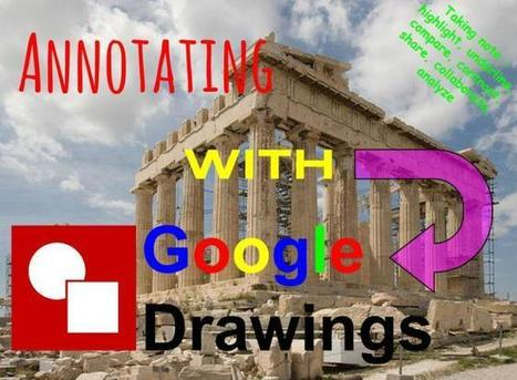 Using Google Drawings to Annotate | Using Google Drive in the classroom | Scoop.it