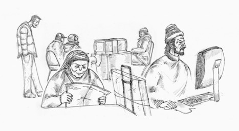 Reportage : des sans-abris au coeur du temple parisien de l'art contemporain | Médiation culturelle, art contemporain et publics réfractaires | Scoop.it
