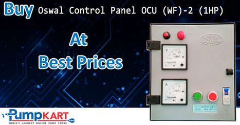 Buy Oswal Control Panel OCU (WF) – 2 (1HP) Online | Agriculture pumps | Scoop.it