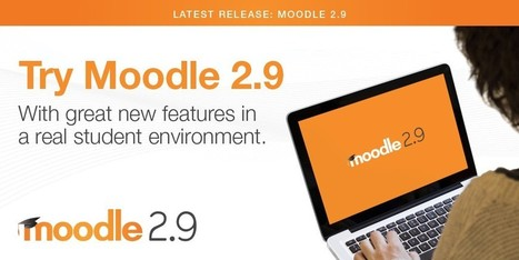 Moodle 2.9 Demo: Try new features in a real environment | Educacion, ecologia y TIC | Scoop.it