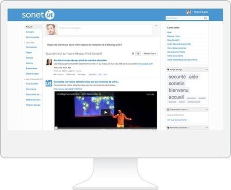 SonetIN | Votre Réseau Social Privé | Les pédagogies numériques dans les médias | Scoop.it