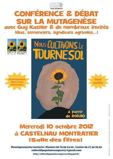 Collectif Populaire en Quercy: 10/10/2012 : Conférence/débat avec Guy Kastler à Castelnau Montratier | Abeilles, intoxications et informations | Scoop.it