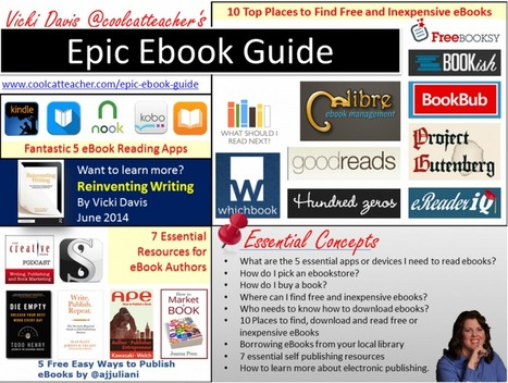 The Epic Ebook Guide - CoolCatTeacher | EdTech | Scoop.it