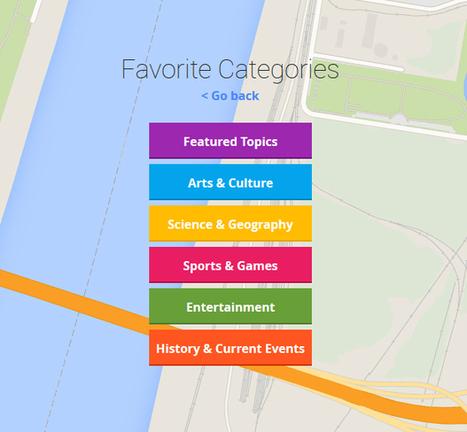 Smartypins de Google. Divertido Trivial geográfico con Google Maps | Blog de educación | SMConectados | Geografía e Historia | Scoop.it