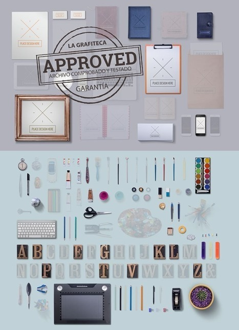 2 colecciones de objetos y mockups para crear escenas | En Comunicación Percepción es Realidad | Scoop.it