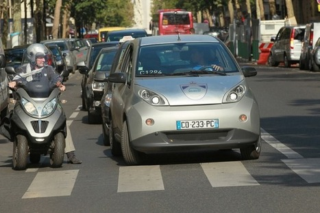 The web sharing economy is booming in the crowded streets of Paris | Internet Goodness | Scoop.it