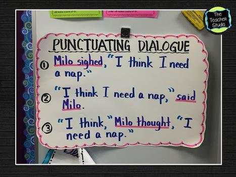 The Teacher Studio: Learning, Thinking, Creating: Teaching Dialogue | techyeah | Scoop.it