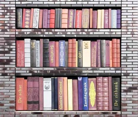 Ράφια με βιβλία στην πρόσοψη κτιρίου! | Book's Leader | Scoop.it
