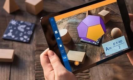 Geometry, una app para estudiar poliedros con Realidad Aumentada - Educación 3.0 | RECURSOS MATEMÁTICAS | Scoop.it