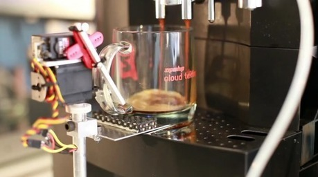 Zipwhip creates text message-enabled coffee machine using ...   Coffee Lovers   Scoop.it