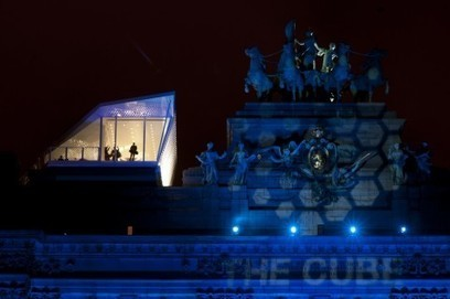 Sui tetti d'Europa. The Cube, il ristorante-origami di Park Associati | Artribune | Architecture and Urban Planning | Scoop.it