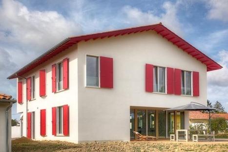 Maison passive au Pays Basque: Photos Maison Passive Pays Basque | Solutions béton pour maisons individuelles performantes | Scoop.it