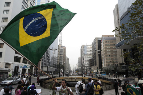 Brazil protests continue despite concession   Human Rights and the Will to be free   Scoop.it