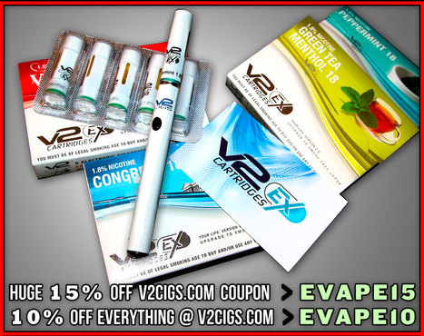 Why Do V2 Cigs Continue To Dominate In Popularity and Ratings?   ECigarettes   Scoop.it