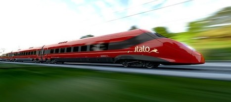 Alstom reveals Italo Pendolino   Global railway news   Scoop.it