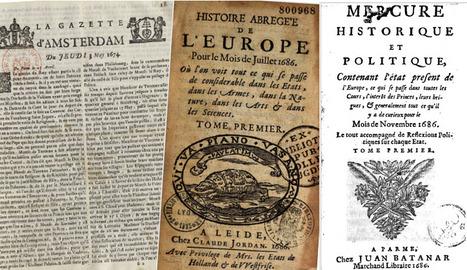 Au XVIIe siècle, naissance du journalisme politique | DocPresseESJ | Scoop.it