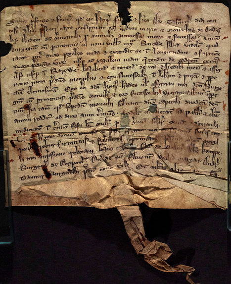 An Irish sheep tale – 700 year-old parchments conserved | Medieval History | Scoop.it