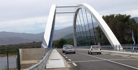 Le pont du Liamone inauguré : 10 millions d'euros et deux années de travaux pour de la belle ouvrage   Construire en Acier   Scoop.it