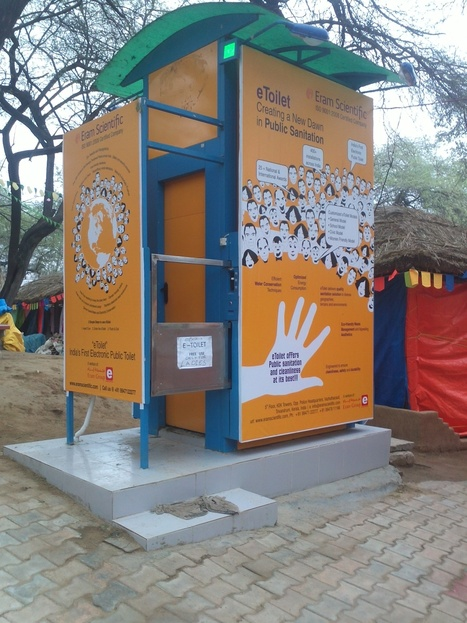 This eToilet Is Changing The Way Public Sanitation Works In India - The Better India | India | Scoop.it