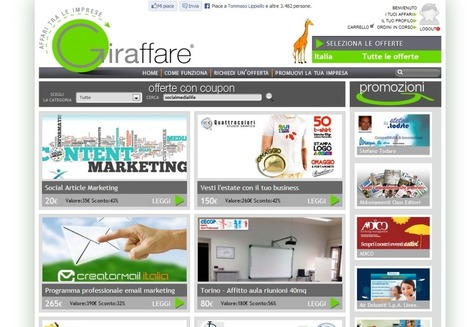 "Giraffare.it: La soluzione ""social"" per gli affari tra le imprese 
