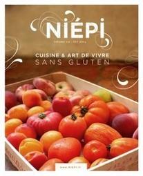 Le n°2 de Niépi, cuisine et art de vivre sans gluten, est disponible   Tendances gastronomiques et innovations culinaires   Scoop.it