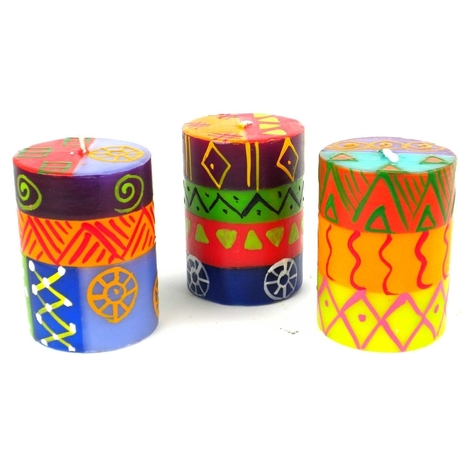 Hand-Painted Candles | Environment | Scoop.it
