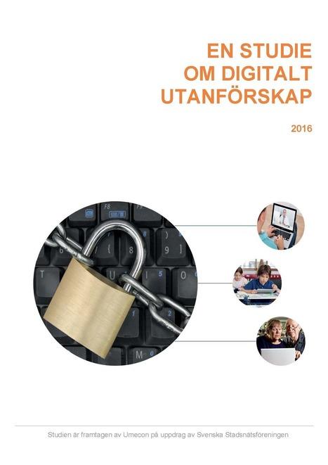Ny studie:En miljon svenskar i digitalt utanförskap - Stadsnätsföreningen   Bredband   Scoop.it