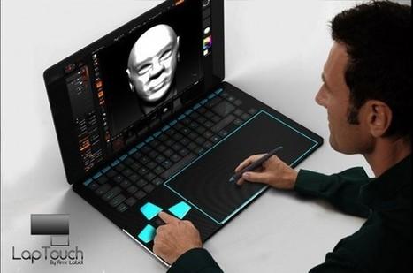 Concept Touchlap, un ordinateur portable conçu pour les designers | Actinnovation© | GADGETS HITECH | Scoop.it