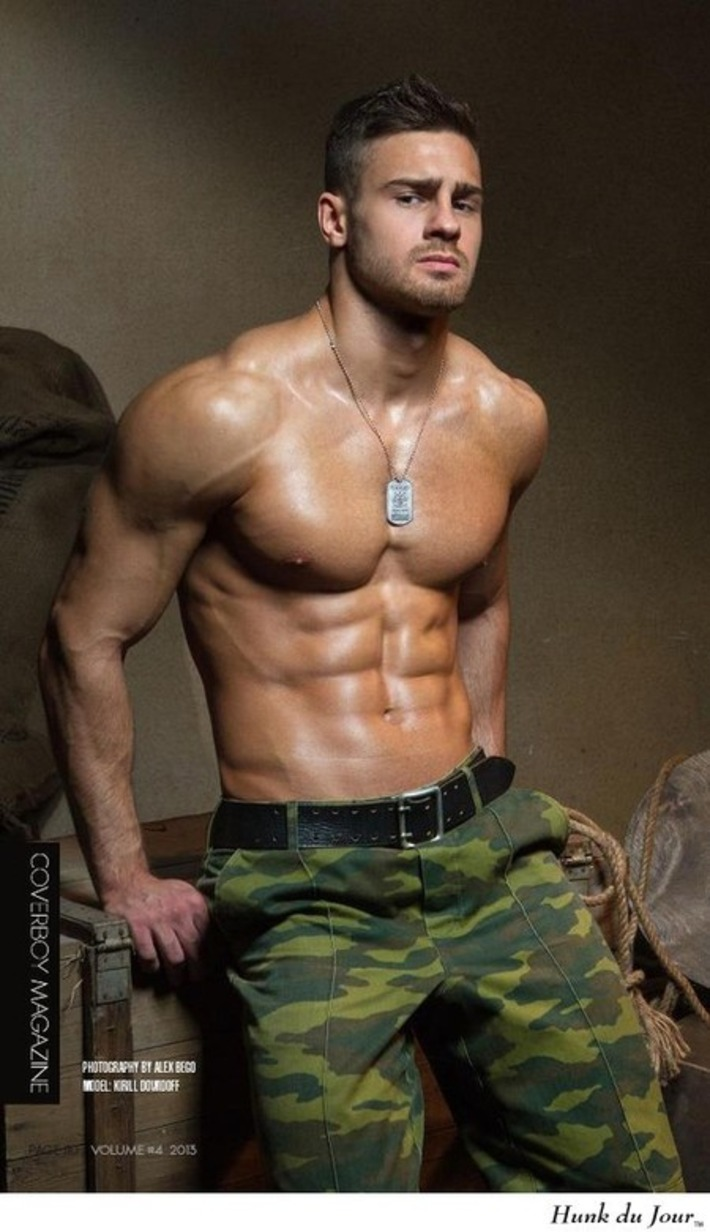 Your Hunk of the Day: Kirill Dowidoff : Hunk du Jour   Let's Get Sex Positive   Scoop.it