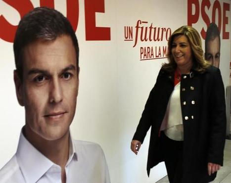 Pedro Sánchez y Susana Díaz quieren disputarse ya el liderazgo - Diario Andalucia | Notas56 | Scoop.it