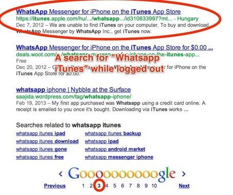 Google search appears to be ranking iTunes app links lower than usual | Digital Lifestyle Technologies | Scoop.it