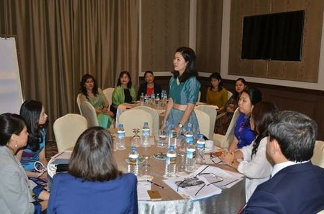 CEO CHAMPIONS: Myanmar and global CEOs call for action to promote gender diversity in the workplace | Women and entrepreneurship | Scoop.it