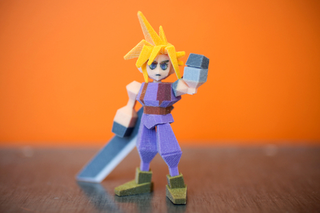 Print chop: How copyright killed a 3D-printed Final Fantasy fad | 3-D Printing Stories | Scoop.it