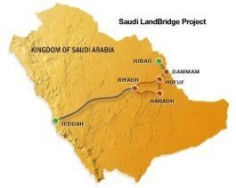 Saudi Landbridge design contract awarded | Rail leaders | Scoop.it