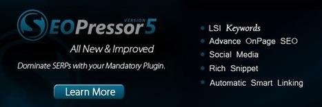 SEOPressor - wordpress seo plugin | SEO, Marketing, Social Media, News | Scoop.it
