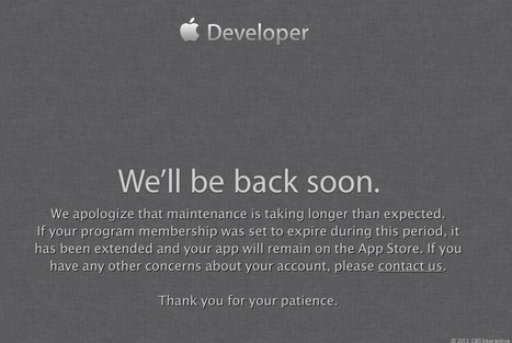 Apple: Developer site targeted in security attack, still down | Apple, Mac, MacOS, iOS4, iPad, iPhone and (in)security... | Scoop.it
