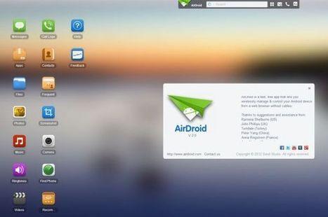 AirDroid 2 beta expande sus funciones como control remoto de terminales Android vía Internet | VI Tech Review (VITR) | Scoop.it